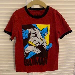 Boys Batman Red Graphic T-Shirt - Size 5